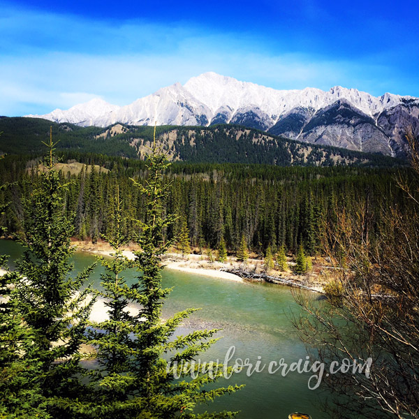 banff river lori craig april2016