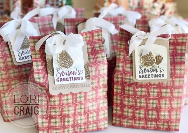 Seasons Greetings Bags Lori Craig