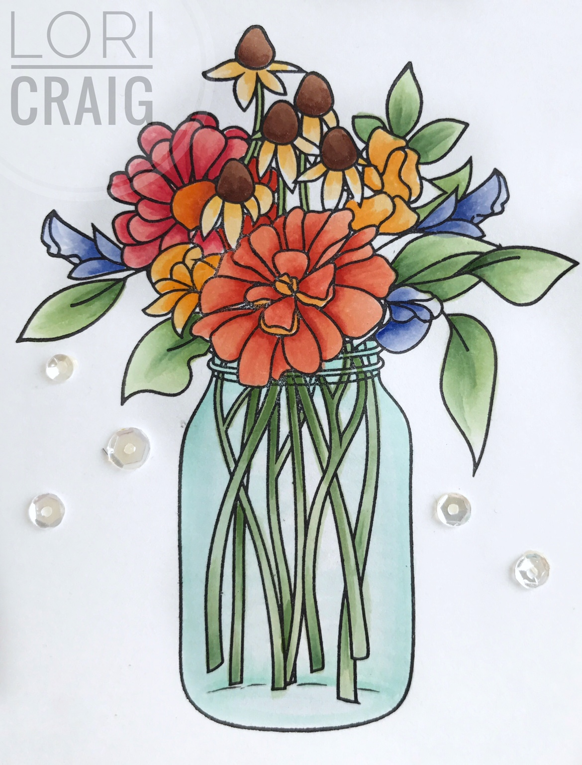 Wildflower bouquet and upcoming copic classes make a difference fullsizerender1 izmirmasajfo